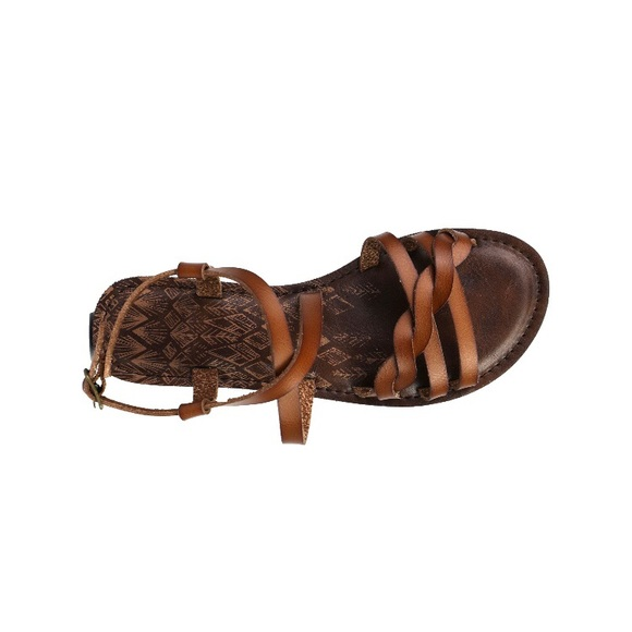 cc6e6386ab4eb Time and Tru Shoes | Womens Brown Braided Sandals Shandle | Poshmark